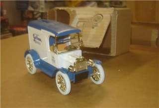 Diecast 1917 Ford Model T Van Body Scot Tissue Bank