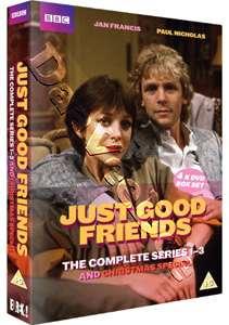 Just Good Friends   Entire Series 1 3 NEW PAL 4 DVD Set