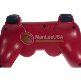 RED 6 AXIS shock Wireless Bluetooth Controller for Sony Playstation
