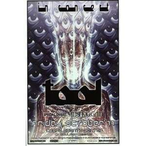 Tool Alex Grey Boulder Concert Poster 2002: Home & Kitchen