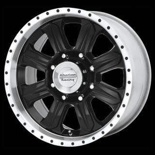 20 Inch Black Wheels Rims Dodge RAM Chevy Truck 8 lug