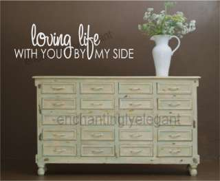 You By My Side Vinyl Decal Words Stickers Letters Wall Decor