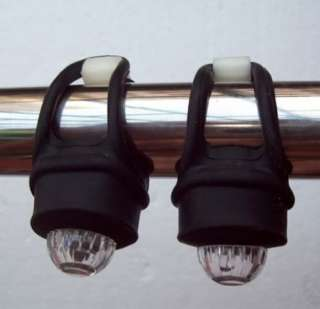 Black & Blue Bicycle Bike Frog Safety Rear LED Light