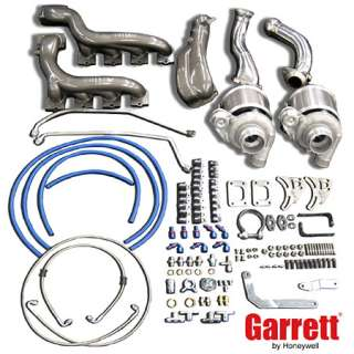 Mustang GT (2005 and newer) Garrett. Turbo GT Tuner Twin Turbo Kit for