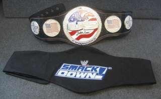 WWE John Cena Word Life US CHAMPIONSHIP Belt Replica Youth Size w/Bag