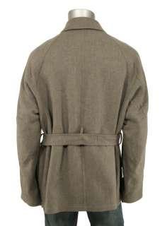 Ralph Lauren Purple Label Gray Wool Jacket Coat XXL New $3995