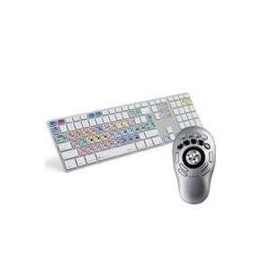 LogicKeyboard Advance Adobe Premiere Pro CS3/4, Apple Ultra Thin Alu