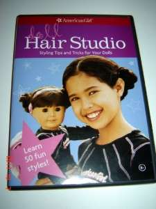 aMeRiCaN GiRL CoLLeCTION BiNDeR BooK DoLL HaiR STuDio DVD CLeaNSiNG
