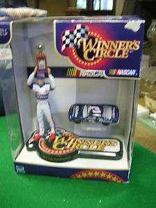 NIB Dale Earnhardt Jr 1998 Figure and Car WINNERS CIRCLE