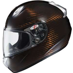 Advanced Carbon Copper Full Face Motorcycle Helmet   Size