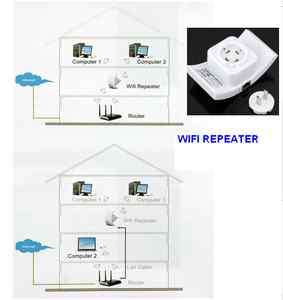 New Top Hot Long Range Universal WLAN WIFI Wireless Repeater