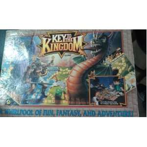 Key to the Kingdom Adventure Board Game   1992 Toys & Games