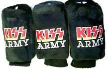KISS ARMY Golf Club Covers For 1, 3 & X Clubs Set Of 3