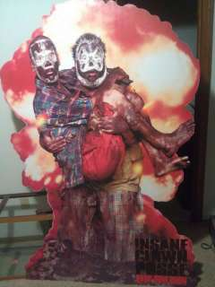 ICP INSANE CLOWN POSSE BANG POW BOOM LIFESIZE STAND UP STANDEE TWIZTID