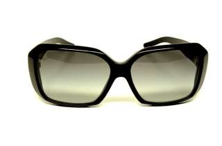 BURBERRY BU 4083 3215/11 SUNGLASSES BLACK PLASTIC GREY LENS AUTHENTIC