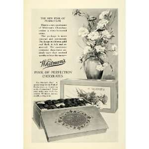 1926 Ad Whitmans Assorted Chocolates Mothers Day Candy Box Confections