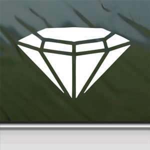Diamond White Sticker Chevy Ford Car Vinyl Window Laptop White