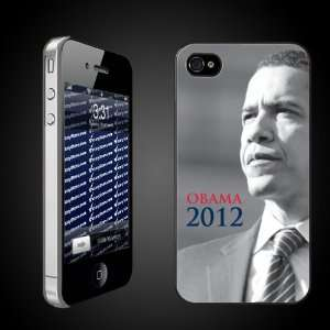 Obama 2012 iPhone Design   CLEAR Protective iPhone 4