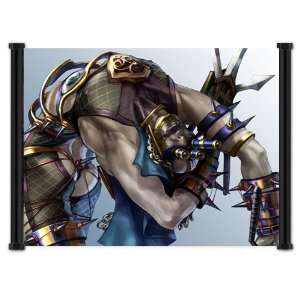 Soul Calibur IV 4 Game Voldo Fabric Wall Scroll Poster (21