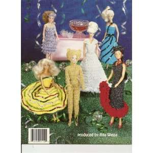 Fashion Doll Costume Party in Thread Crochet (American