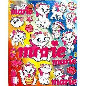 Aristocats Marie kitty cat paw prints umbrella Disney Movie Sticker