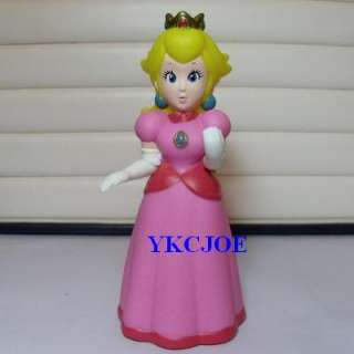 Nintendo Wii Super Mario Princess Peach Figure
