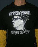 UNHOLY GRAVE shirt,crust,grind,assuck,spazz,625 thrash