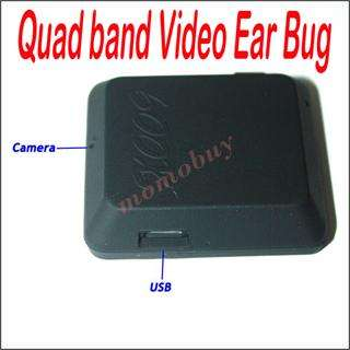 Quad band GSM SIM Card X009 spy hidden Camera Video/Voice Record Ear