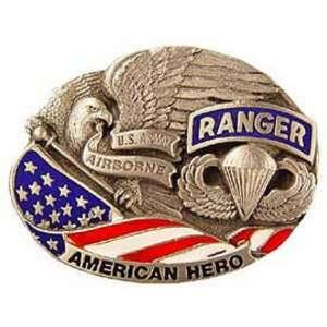 U.S. Army Airborne Ranger American Hero Belt Buckle Patio