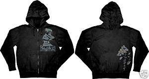 Naruto Sasuke Zipper Jacket Hoodie T shirt ALL SIZE