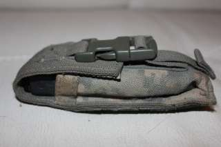 US ARMY MILITARY ISSUE GERBER MULTI TOOL KNIFE & ACU CAMOUFLAGE POUCH