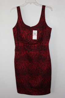 NWT MICHAEL KORS RED BLACK DRESS LIPSTICK SIZE 10