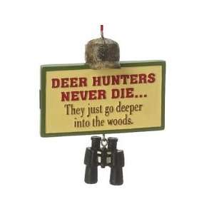 Deer Hunters Never Die by Midwest: Home & Kitchen
