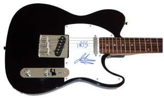 Goo Goo Dolls John Rzeznik Autographed Signed IRIS Guitar PSA UACC RD