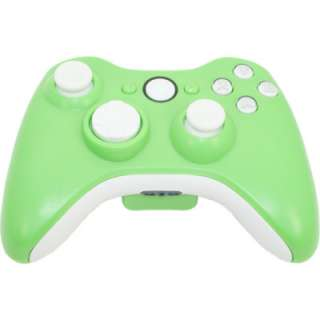 MadModz Matte Green Whiteout XBOX 360 Controller Kit
