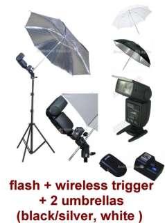 Flash Umbrella Kit for Canon 7D,1Ds,5D Mark II