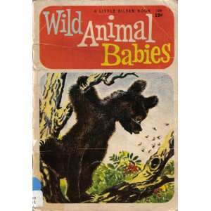 Wild Animal Babies (Little Silver Book) Kathleen N Daly Books