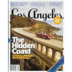 Los Angeles Magazine   April 2009 California Coas, Ocomom, and More