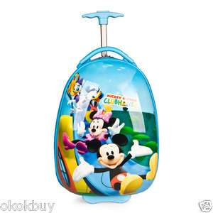 Disney Mickey Mouse Hard Wheeled Luggage Bag shiny Cover 16