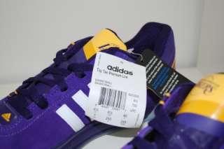 Adidas Top Ten Premium Low LA LAKERS NBA LIMITED Mens US 7 Uk 6.5 Eur