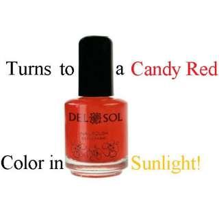 Del Sol ☺ Color Changing Nail Polish ☺ Peek A Boo ☺