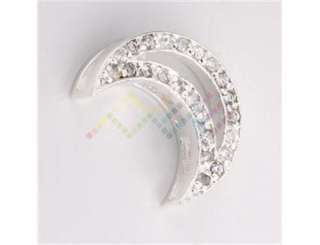 fashion Sterling Silver Plated moon charms pendants Jewelry for