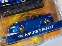 Jada Dub City 1:64 Blue Ford Mustang Convertible