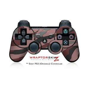 Sony PS3 Controller Skin   Camouflage Pink: Video Games