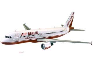 Airbus A320   200   Air Berlin Wood Airplane Model