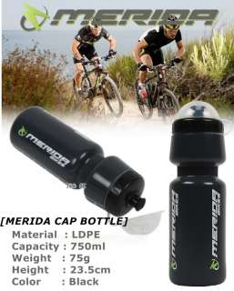 MERIDA Bike Bicycle CAP Water Bottle LIMITED RAIR EDITION Cycling