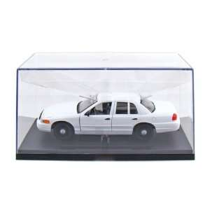 Ford Crown Victoria Blank Police Car 1/27 (All White) Toys & Games