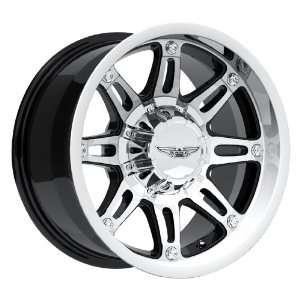Eagle Alloys Series 027 Black Wheel with Painted Finish