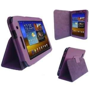 HappyZone   (Purple) Portfolio Leather Case Cover with