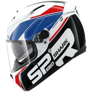 Shark Speed R Motorcycle Helmet   Sauer   Wht/Blu/Red